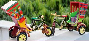 Cycle Rickshaw Toy