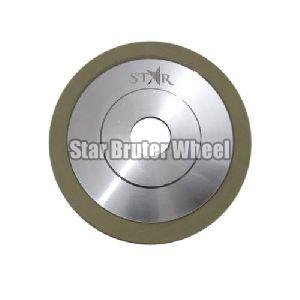Round Diamond Bruting Wheel