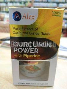 Curcumin Powder With Piperine