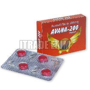 Avana 200mg Tablets