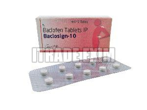 Baclosign 10mg Tablets