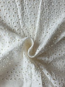 Chikankari Cotton Fabric