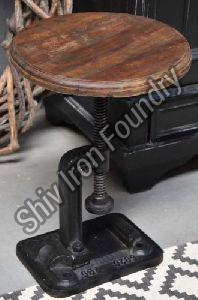 Iron Adjustable Stool
