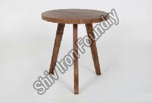 Wooden Side Stool