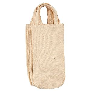 Cotton Canvas Bottle Bags