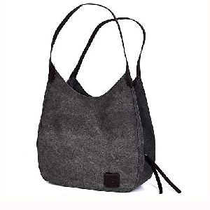 Cotton Canvas Shoulder Bags
