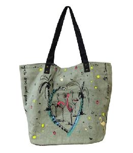 Cotton Canvas Printed Bags