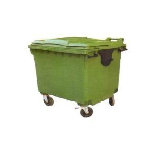 1100 L Plastic Waste Bin