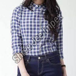 Ladies Checkered Shirt