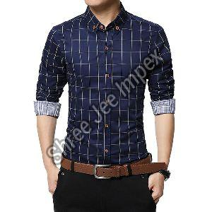 Mens Checkered Shirt