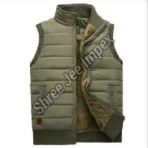 Mens Sleeveless Jacket