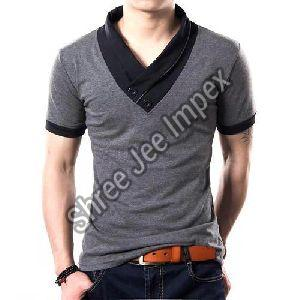 Mens V Neck T-Shirt