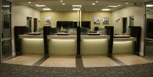 Bank Interior Designing Services