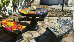 Outdoor Mosaic Tiles