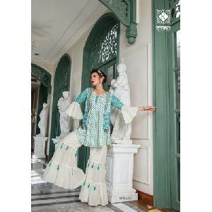 Cotton Rayon Designer Kurti