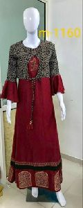 Designer Trendy Kurti With Jacket