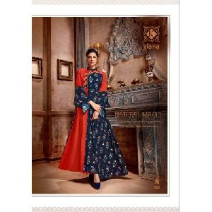 Embroidered Trendy Kurti