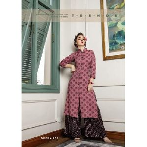 Fashion Palazzo With Kurti