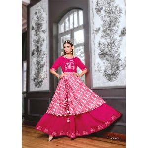 Grace 001 Cotton Anarkali Kurti