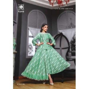 Grace 002 Embroidered Anarkali Kurti
