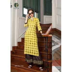 Ladies Palazzo With Kurti