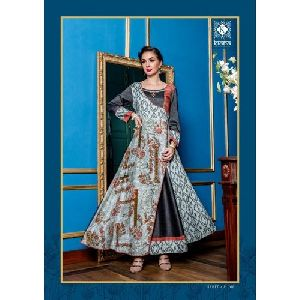 Party Wear Hand Work Designer Kurti