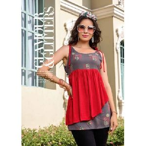 Sleeveless Trendy Top