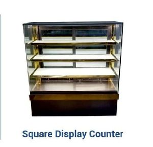 Square Food Display Counter