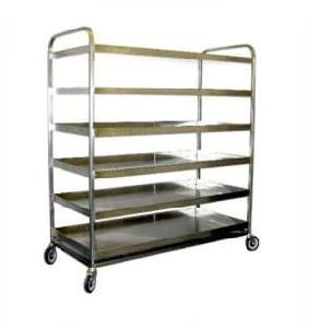Stainless Steel 6 Tier Trolley