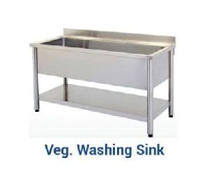 Stainless Steel Vegetable Washing Sink
