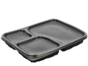 3 Compartment Meal Tray