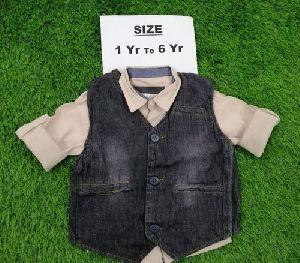 Baby Boy Party Wear Waistcoat