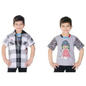Boys Jacket Shirt