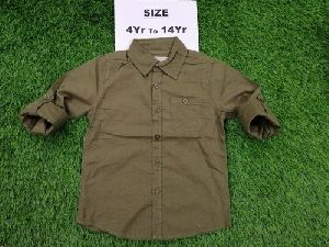 Boys Party Wear Cotton Shirt