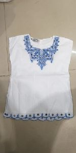 Girls Embroidered Top