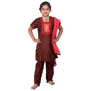 Girls Rajasthani Salwar Suit