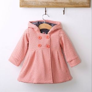 Girls Woolen Overcoat