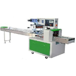 Horizontal Pillow Pack Wrapping Machine