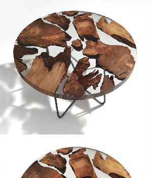 9250 Resin Wood Table