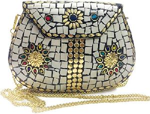 Fashionable Ladies Metal Bag