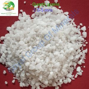 5 mm Medium Size Quartz Grains