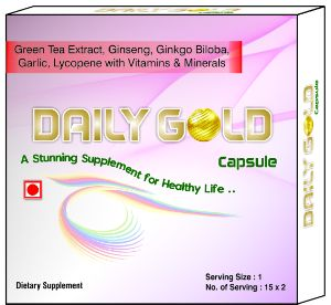 Daily Gold Capsules