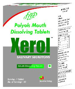 Xerol Mouth Dissolving Tablets