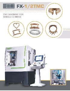 CNC Bangle & Ring Making Machine (FX-1-2TMC)