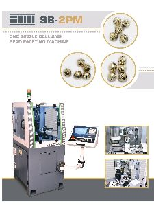 CNC Single Ball & Bead Faceting Machine (SB-2PM)