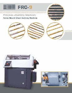 Precision Jewellery Making Machine (FRC-9)