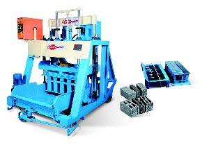Concrete Block Making Machine with Feeder (876)