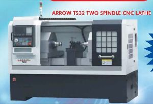 Twin Spindle CNC Lathe Machine