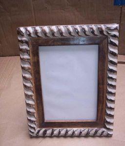 Carved Designer Wood Photo Frame