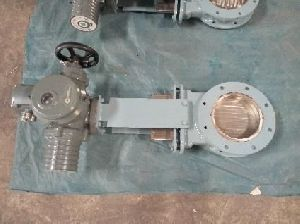 Flanged Type Knife Edge Gate Valve